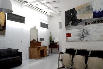 Foyer et Espace d'attente du Studio La Cour